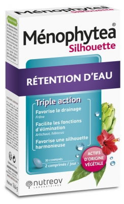Nutreov Ménophytea Silhouette Water Retention 30 Tablets
