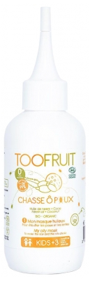 Toofruit Chasse Ô Poux Masque Huileux Bio 125 ml