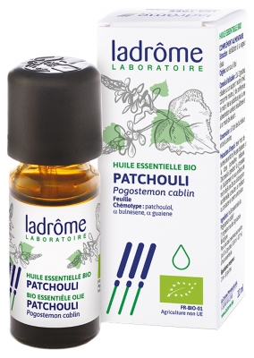 Ladrôme Organic Essential Oil Patchouli (Pogostemon cablin) 10ml