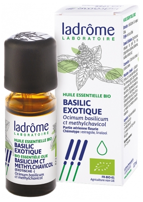 Ladrôme Organic Exotic Basil Essential Oil 10ml