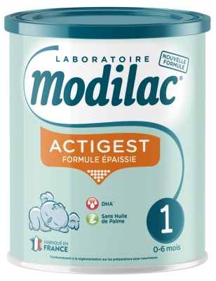 Modilac Actigest 1st Age 0 to 6 Months 800g