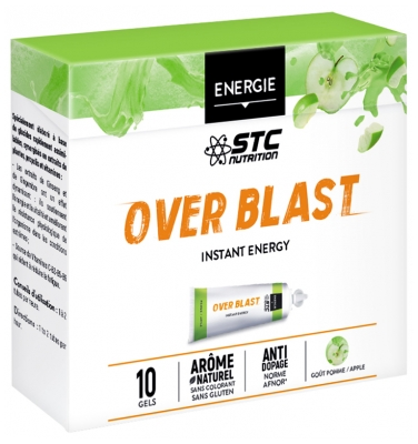 STC Over Blast Instant Energy 10 Gels