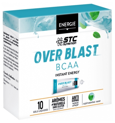 STC Nutrition Over Blast Gel BCAA 10 Doses