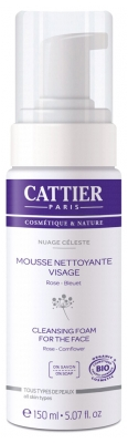 Cattier Nuage Céleste Cleansing Foam for the Face 150ml