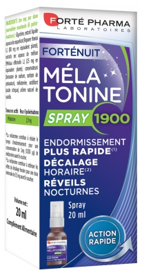 Forté Pharma Spray de Melatonina 1900 20 ml