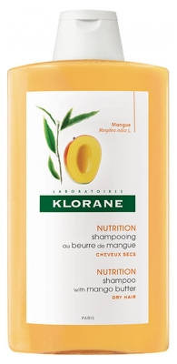 Klorane Nutrition Shampoo With Mango Butter 400ml