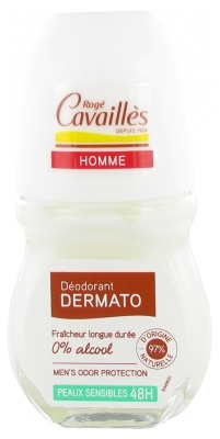 Rogé Cavaillès Mann Deodorant Dermato Anti-Odor 48H Roll-on 50 ml