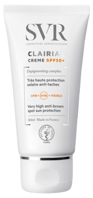 SVR Clairial SPF50+ Cream Very High Anti-Brown Spot Sun Protection 50ml