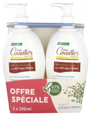Rogé Cavaillès Intimate Toilet Care With Antibacterial 2 x 250ml