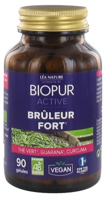 Biopur Active Strong Burner 90 Capsules