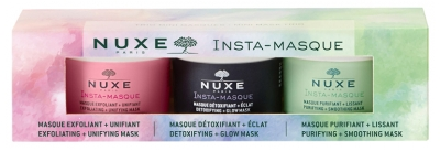 Nuxe Insta-Masque Set Mini-Masks Trio