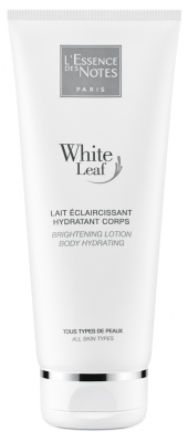 L'Essence des Notes White Leaf Lait Éclaircissant Hydratant Corps 200 ml