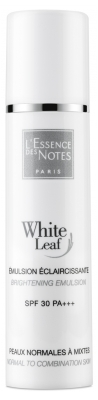 L'Essence des Notes White Leaf Aufhellende Emulsion SPF30 PA+++ 40 ml