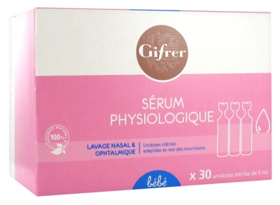 Gifrer Sérum Physiologique 30 x 5 ml