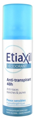 Etiaxil Déodorant Anti-Transpirant 48H Spray 100 ml