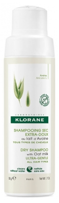 Klorane Ultra-Gentle Dry Shampoo with Oat Milk Powder 50g
