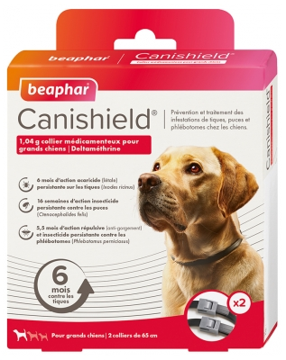 Beaphar Canishield Collar for Big Dogs 2 Collars