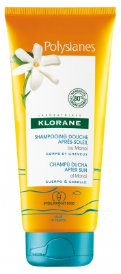 Klorane Polysianes After-Sun Shower Shampoo with Monoi 200 ml