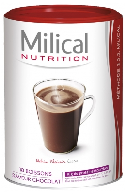 Milical 18 Slimming Drinks 540g - Flavour: Cocoa Morning Pleasure