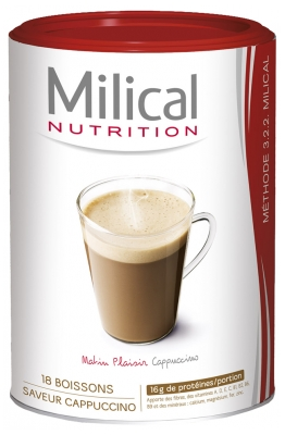 Milical 18 Slimming Drinks 540g - Flavour: Cappucino Morning Pleasure