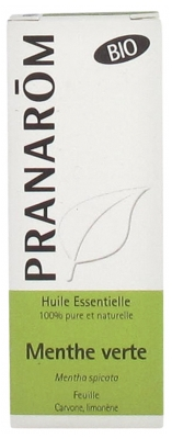 Pranarôm Organic Spearmint Essential Oil (Mentha spicata) 10 ml