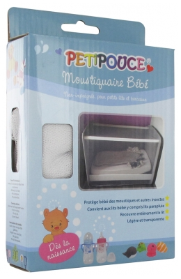 Estipharm Petipouce Baby Mosquito Net for Beds and Cribs