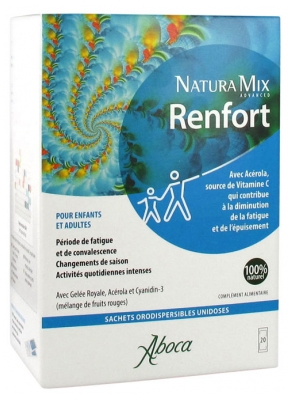 Aboca Natura Mix Advanced Renfort 20 Sachets Orodispersibles Unidoses