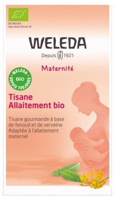 Weleda Maternité Breastfeeding Herbal Tea Verbena 20 Sachets