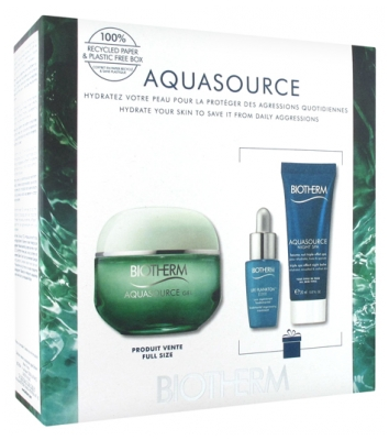 Biotherm Aquasource Hydration and Glow Ritual Gel Set 2020