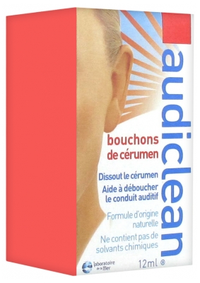 Laboratoire de la Mer Audiclean Ear Wax Remover 12ml
