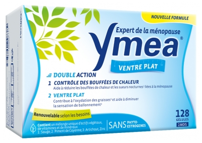 Ymea Flat Stomach 128 Capsules