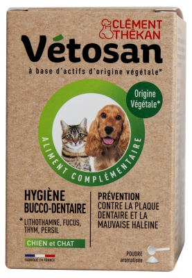 Clément Thékan Vétosan Oral Hygiene Dog and Cat 60 g