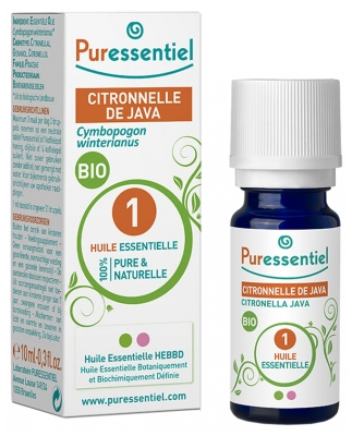 Puressentiel Essential Oil Citronella Java Bio 10ml