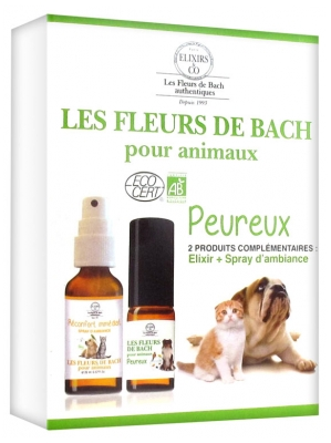 Elixirs & Co Bach Flowers Kit for Fearful Pets