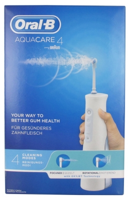 Oral-B Aquacare Portable Waterjet With Oxyjet Technology