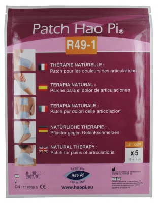 Hao Pi Patch R49-1 Pains of Articulations 5 Patches