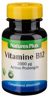 Natures Plus Vitamin B12 Prolonged Action 60 Tablets