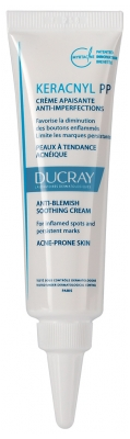 Ducray Keracnyl PP Anti-Blemish Soothing Cream 30ml