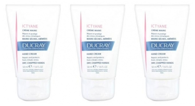 Ducray Ictyane Hand Cream 3 x 50ml