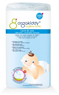 Orgakiddy Care Cottons 100 Pieces