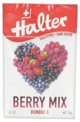 Halter Sugar Free Candies Mixed Berries 40 g