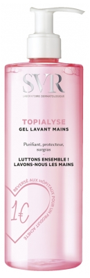 SVR Topialyse Gel Lavant Mains 400 ml