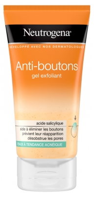 Neutrogena Anti-Boutons Gel Exfoliant 150 ml
