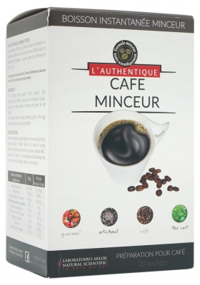 Arlor Natural Scientific L'Authentique Slimming Coffee Enhanced Formula 20 Sachets