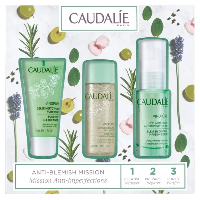 Caudalie Vinopure Coffret Mission Anti-Imperfections
