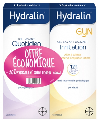 Hydralin Gyn Irritation + Hydralin Daily 200ml