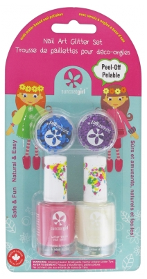 Suncoat Girl Nail Glitter Kit