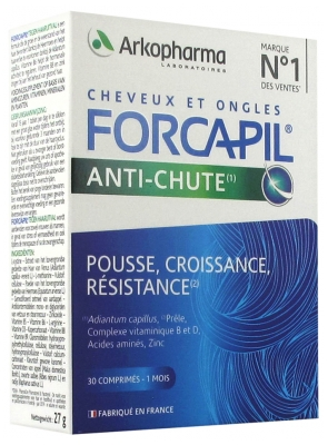 Arkopharma Forcapil Anti-Hair Loss 30 Tablets