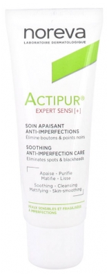 Noreva Actipur Expert Sensi+ Soothing Anti-Imperfection Care 40ml