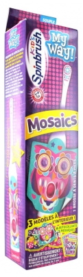 Spinbrush Kids My Way Kids Cepillo de Dientes Mosaicos Niños